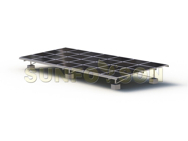 aluminum solar panel supporting structure
