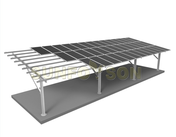 solar carport mounting racks