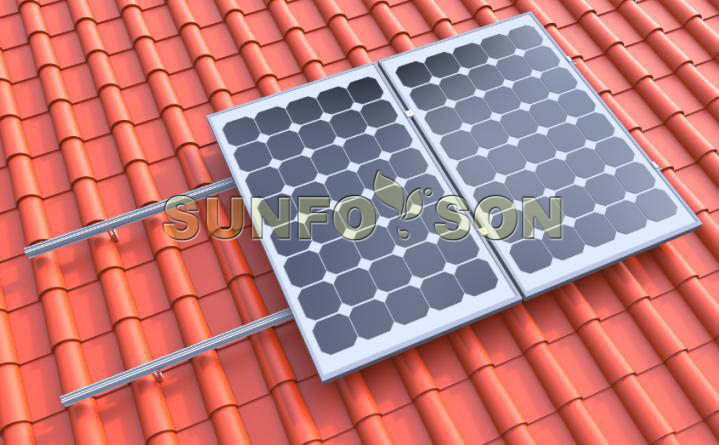top roof solar panel mounting structure supplier
