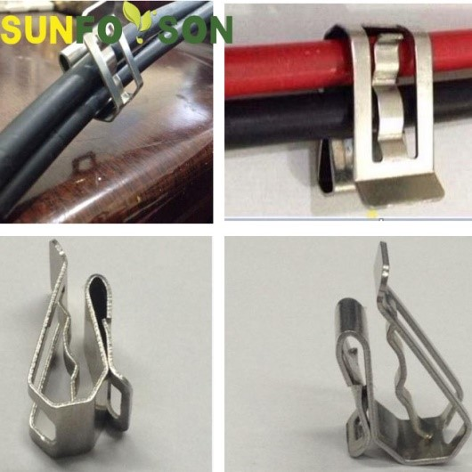 Solar Cable Clips For 2 Wires