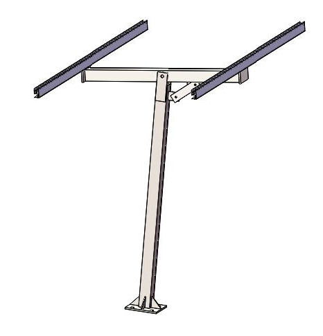 Solar Pole Mounting System