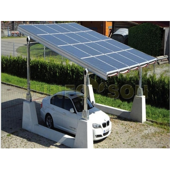 car park mounting system carport solar ground mounting xiamen sunforson co ltd. Black Bedroom Furniture Sets. Home Design Ideas