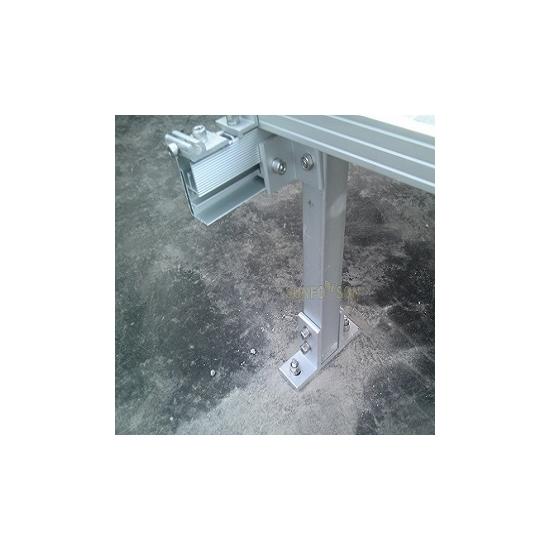 Customized Fixed Angle Solar Mounting Brackets Adjustable