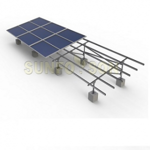 Galvanizing Steel Solar Mounting System