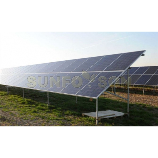 Ground Screw Solar PV Mounting System,Solar Power Installation Mount