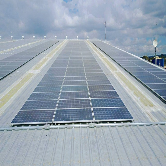 Solar PV Mounting System for Tin Roof