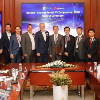 European Energy Giant BayWa r.e. Join Hands with Huawei to Create A New Energy Era