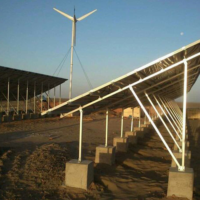 Chilean Large Project of Solar Mount Brackets Has Been Finished Production