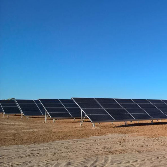 Bulgaria 200KW Solar Ground Mounting System Project Has Been Finished Production