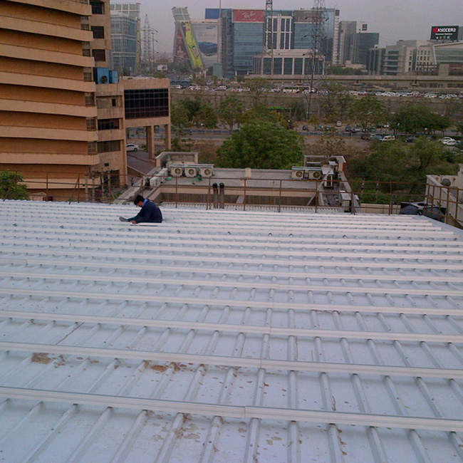 45 KW solar tin roof project in India