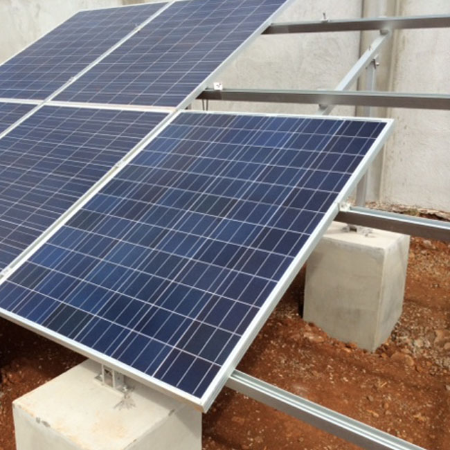50KW project in Mauritius